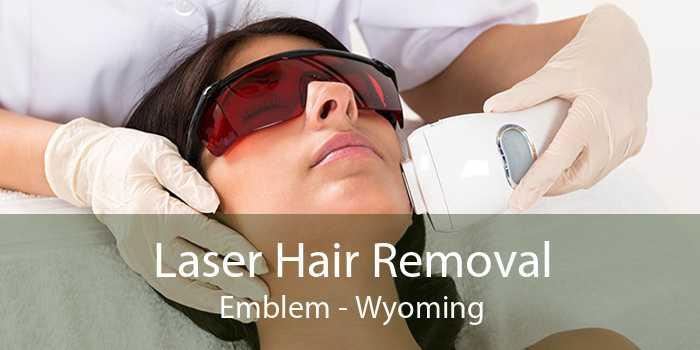 Laser Hair Removal Emblem - Wyoming